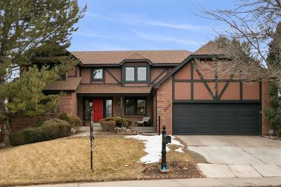 Arapahoe County Single Family Home Under Contract: 6018 South Lima Way