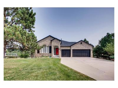 Elbert County Single Family Home Under Contract: 1471 Conifer Trail