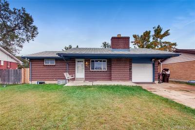 Broomfield Single Family Home Under Contract: 874 Hemlock Way