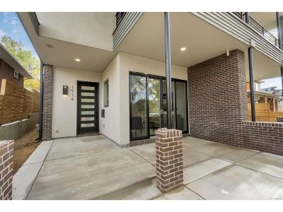 Denver Condo/Townhouse Active: 1714 Lowell Boulevard