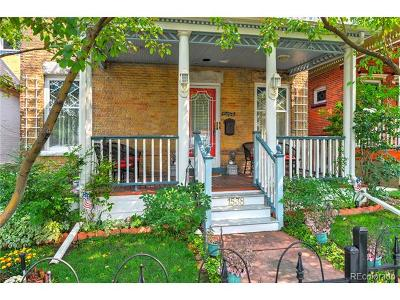 Denver Single Family Home Active: 1538 North Gilpin Street