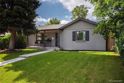 Denver Single Family Home Active: 3046 West 25th Avenue