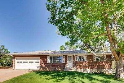 Denver Single Family Home Under Contract: 8462 East Lehigh Drive