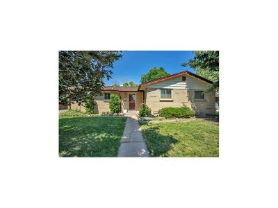 Lakewood Single Family Home Under Contract: 1395 South Zephyr Street