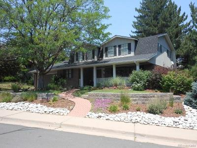 Centennial Single Family Home Under Contract: 6448 South Heritage Place West