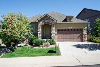 Castle Rock Single Family Home Under Contract: 3496 Amber Sun Circle
