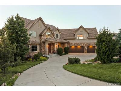 Castle Pines CO Single Family Home Sold: $1,399,900