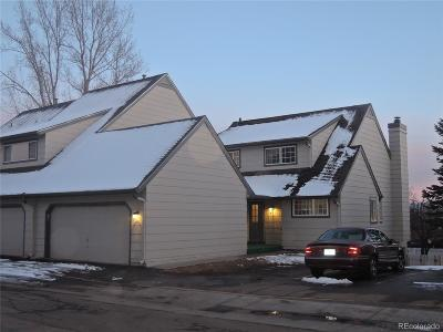 Littleton Condo/Townhouse Under Contract: 10594 Park Mountain