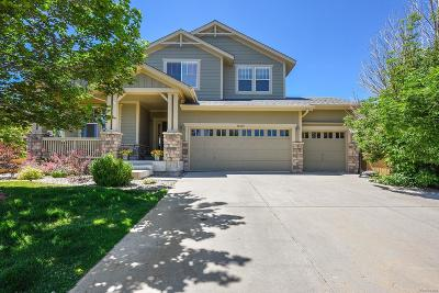 Highlands Ranch Single Family Home Under Contract: 10625 Redcone Way
