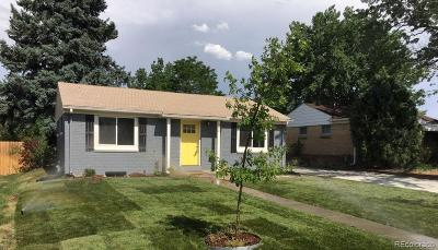 Denver Single Family Home Active: 480 South Leyden Street