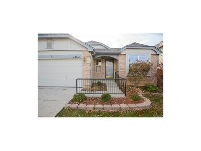 Broomfield Single Family Home Under Contract: 2882 Elaine Drive
