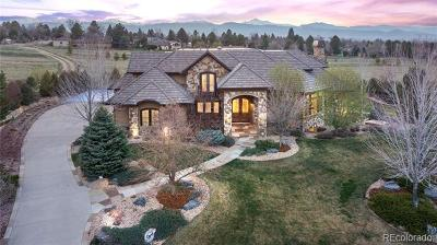 Single Family Home Active: 6745 Niwot Hills Drive