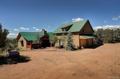 Westcliffe Single Family Home Active: 132 Hopi Road
