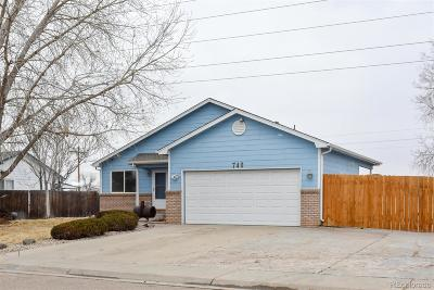 Weld County Single Family Home Active: 740 Beth Avenue