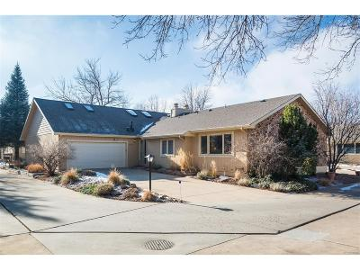 Boulder Condo/Townhouse Under Contract: 5472 White Place