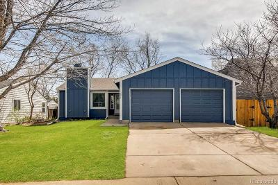 Littleton Single Family Home Active: 12094 West Vail Pass