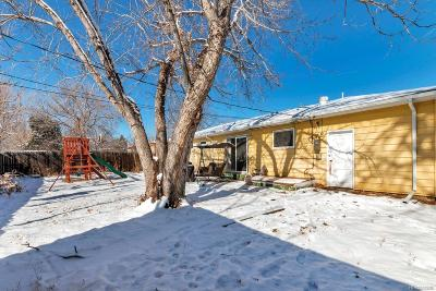 Wheat Ridge Single Family Home Under Contract: 10890 West 41st Avenue