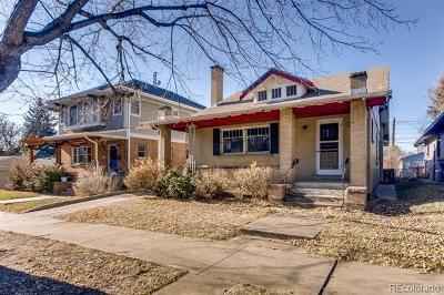Denver Single Family Home Active: 1729 Albion Street