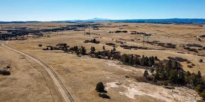 Castle Rock Residential Lots & Land Active: 5595 East Willow Creek Road