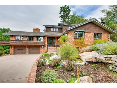Arvada Single Family Home Under Contract: 7253 Routt Drive