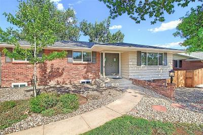 Wheat Ridge Single Family Home Active: 3692 Simms Street