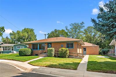 Longmont Single Family Home Active: 1338 Aspen Street