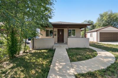 Denver Single Family Home Active: 3426 West Dakota Avenue