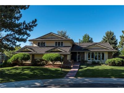 Centennial Single Family Home Active: 6095 South Filbert Court