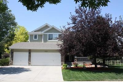 Longmont Single Family Home Active: 11723 Elmer Linn Drive