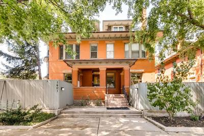 Denver Condo/Townhouse Active: 1401 North Franklin Street #1