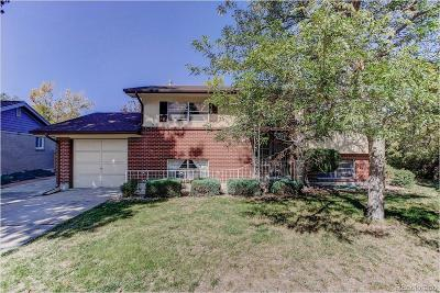 Northglenn Single Family Home Active: 11625 Fowler Drive