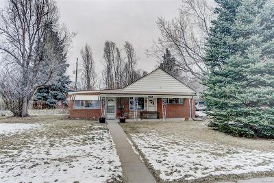 Wheat Ridge Single Family Home Under Contract: 6345 West 33rd Avenue