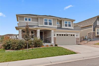 Castle Rock Single Family Home Active: 4154 Zodiac Place