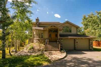 Steamboat Springs Single Family Home Under Contract: 205 Huckleberry Lane