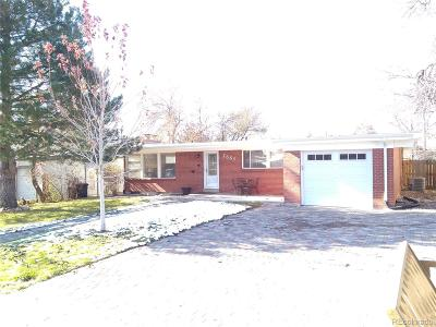 Westminster Single Family Home Active: 7861 Irving Street