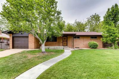 Wheat Ridge Single Family Home Under Contract: 8575 West 45th Avenue