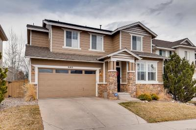 Highlands Ranch Single Family Home Under Contract: 3183 Spearwood Drive