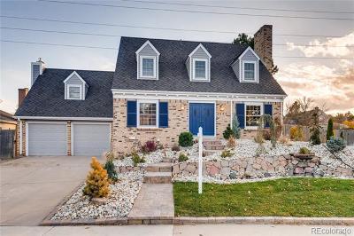 Centennial Single Family Home Active: 7435 South Ivy Way