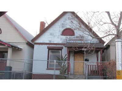 Denver Single Family Home Under Contract: 4305 Columbine Street