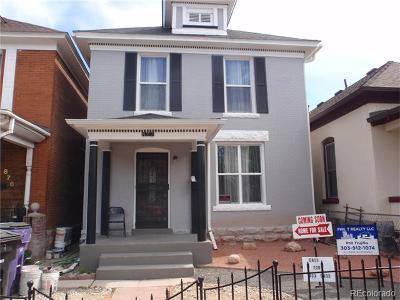 Baker, Baker/Santa Fe, Broadway Terrace, Byers, Santa Fe Arts District Single Family Home Active: 872 Galapago Street