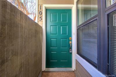 Littleton Condo/Townhouse Under Contract: 8378 South Upham Way #D-105