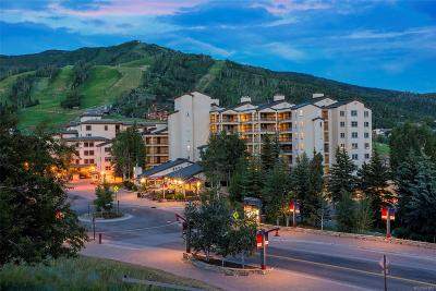 Steamboat Springs Condo/Townhouse Under Contract: 1855 Ski Time Square Drive #603