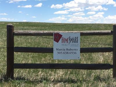Elbert CO Residential Lots & Land Active: $200,000