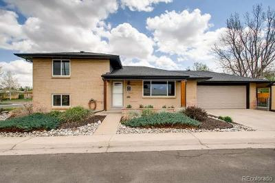 Wheat Ridge Single Family Home Under Contract: 3990 Jay Street