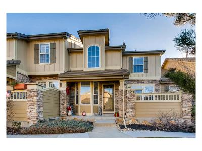 Highlands Ranch, Lone Tree Condo/Townhouse Active: 8943 Tappy Toorie Circle