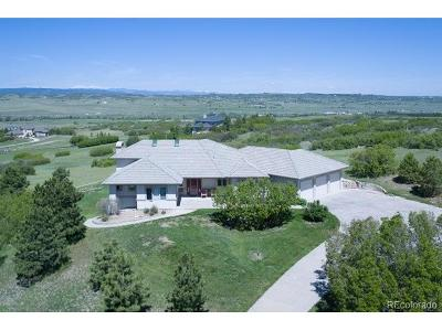 Castle Rock CO Single Family Home Active: $819,000