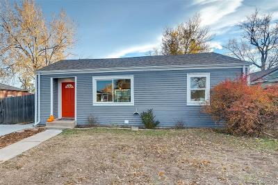 Denver Single Family Home Active: 1860 West 51st Avenue