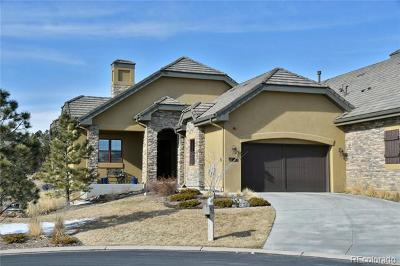 Castle Pines Village Condo/Townhouse Active: 5165 Le Duc Drive