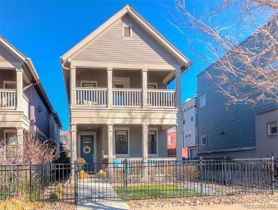 Denver Single Family Home Active: 2210 Washington Street