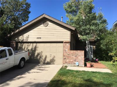 Aurora, Denver Single Family Home Active: 12710 East Wyoming Circle